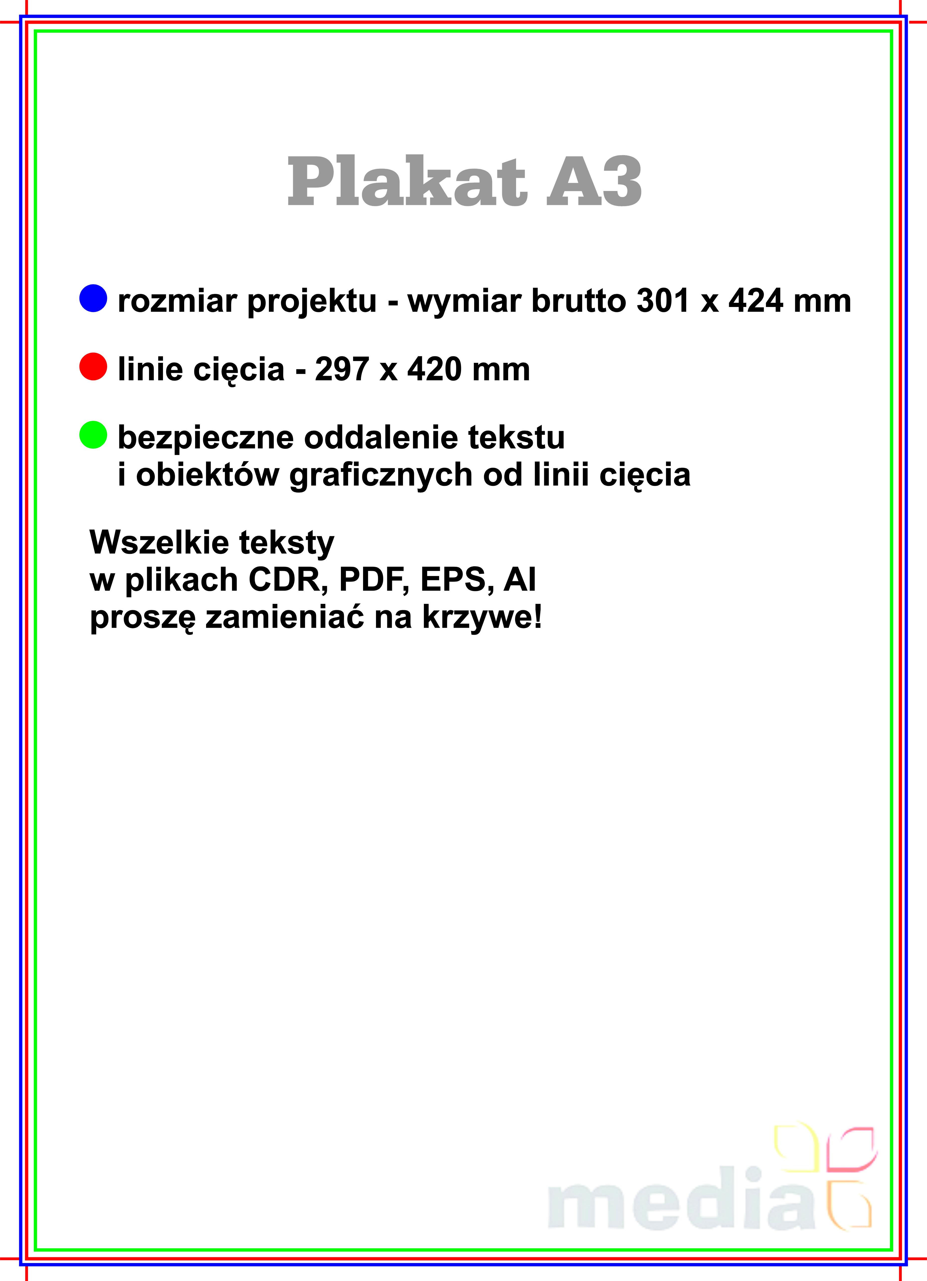 Druk Plakatów Wybierz Format Media Drukarnia